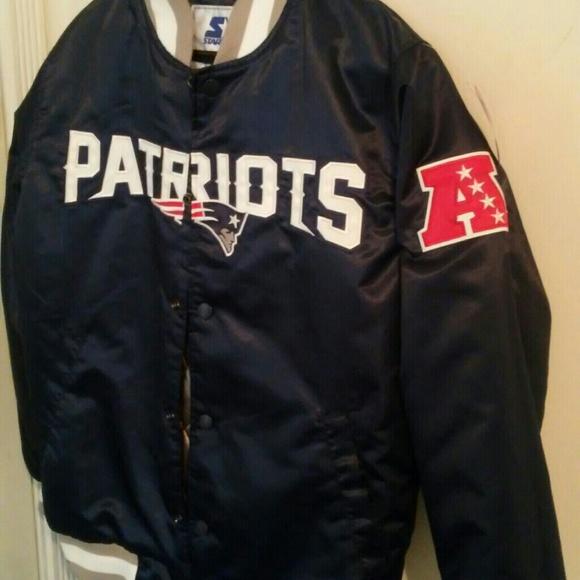 detailed look f4097 221bd Vintage New England Patriots Starter Jacket